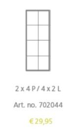ALUMINIUM KADER 702044