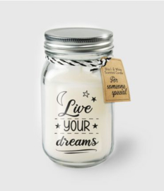 BLACK&WHITE VANILLE KAARS - LIVE YOUR DREAMS