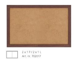 WALNOOT KADER 702017