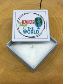 BLIK KAARS TEACHERS CHANGE THE WORLD