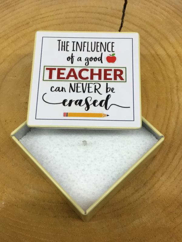 BLIK KAARS THE INFLUENCE OF A GOOD TEACHER...