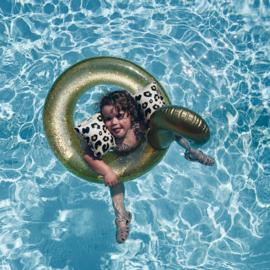Zwembandjes | Panter beige