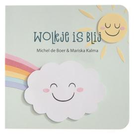 Kartonboekje Baby's & Peuters // Wolkje Is Blij