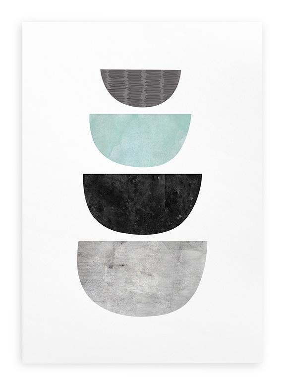 Poster Grafisch A3 // Abstract Geometrisch
