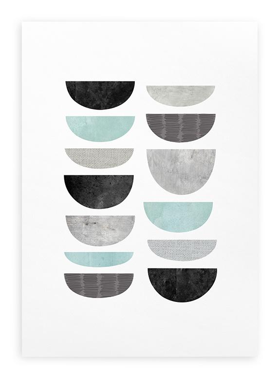 Poster Grafisch A3 // Minimalistisch Abstract