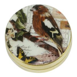 Pillen doosje vogel