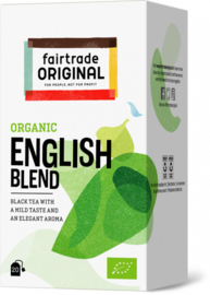 Fairtrade Original Biologische English Blend 20 Stuks