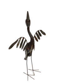 Aalscholver staand, 70 cm