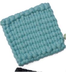 Vilt, Blauw, 21 cm