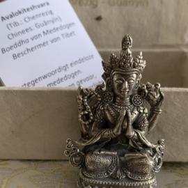 Mini Avalokiteshvara Quan Yin Boeddha