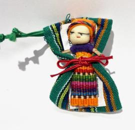 Worry doll in zakje, 5 cm