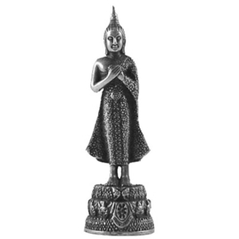 Geboortedag Boeddha Vrijdag 6 cm x 1,7 cm