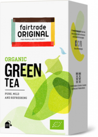 Fairtrade Original Biologische Green Tea 20 Stuks