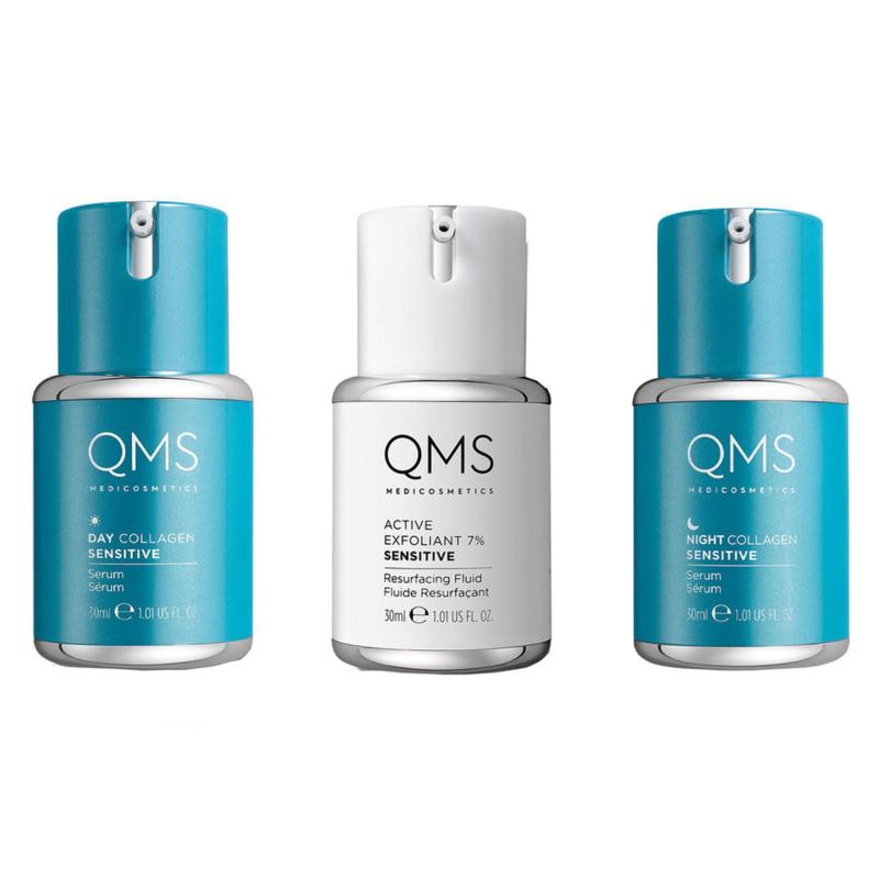 QMS Collagen System 3-step Sensitive 3x30ml