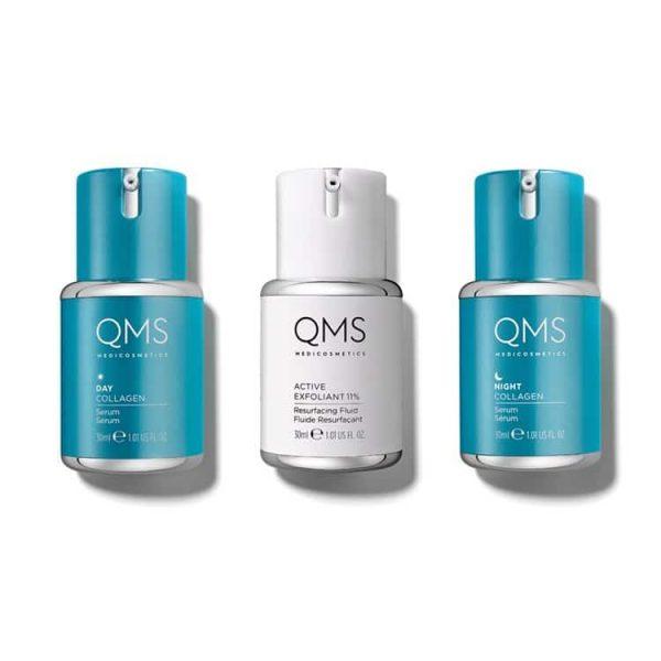 QMS Collagen System 3-step Routine 3x30ml