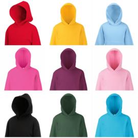 Onbedrukte hoodies