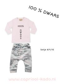 100 procent dwars