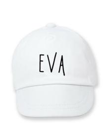 Cap met naam ( lettertype Farmhouse )