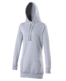 Onbedrukte Longline hoodies
