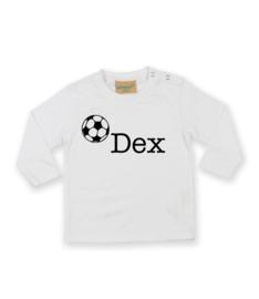 Personaliseer het shirtje met eigen naam