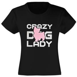 Crazy dog lady Yorkie