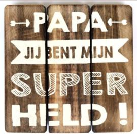 Papa held
