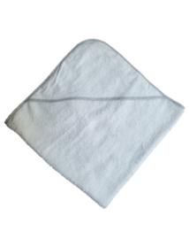 Wit met grijze randen