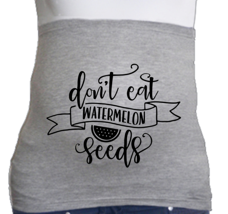 Don´t eat watermelon seeds
