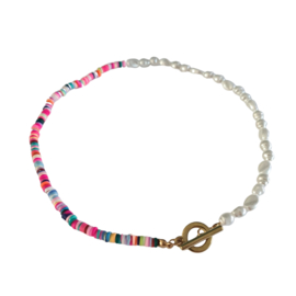 Parel ketting | Colorful Fashion