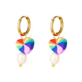 Oorbel | Love Rainbow