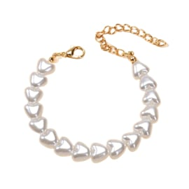 Armbandje Hearts Pearl