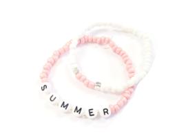 Armbandje Summer | Licht Roze