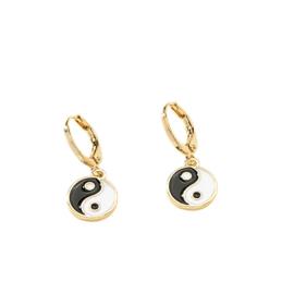 Oorbel Yin Yang | Gold