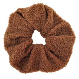 XXL Scrunchie Soft Teddy   Brownie