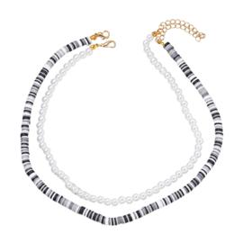 Parel ketting | Zebra