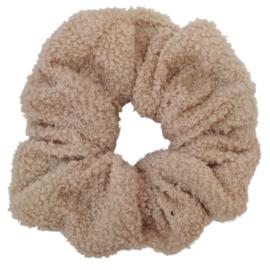 XXL Scrunchie Soft Teddy   Beige