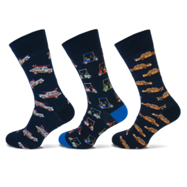 Fun socks 3-pak