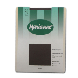 30 denier Marianne panty voor grote maten