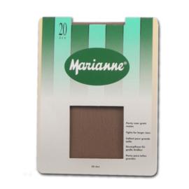 20 denier Marianne  panty voor grote maten
