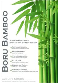 Boru bamboo biker sok