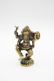 Grote Bronzen Staande Ganesh