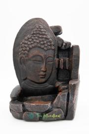 Backflow Wierookbrander Boeddha (Zwart)