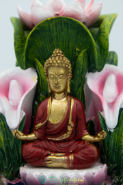 Backflow Wierookbrander Kleurrijke Boeddha
