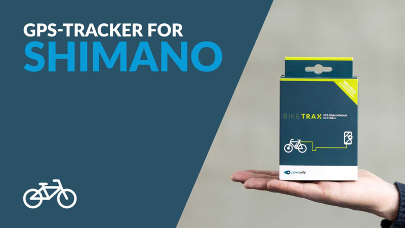 GPS Tracker voor Shimano E-Bike