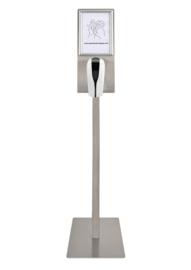 Desinfectie Zuil - 1000ml - RVS – Automatic Dispenser - Contactloos - Geschikt voor Vloeistof/Alcohol – Overal te plaatsen - Modern design - DDC.9