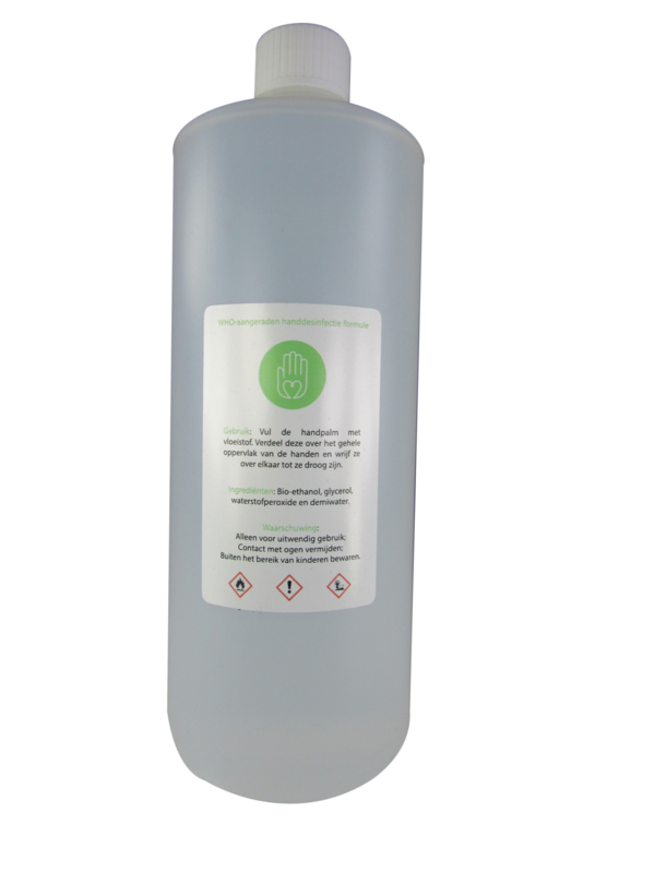 Hand sanitizer/Alcohol 70% 6x1000 ml