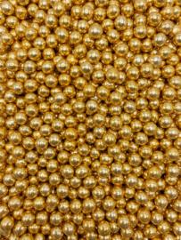Crunchy parel goud metallic