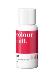 ColourMill Red 4 X 20 ml