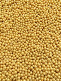 Parel goud 5 mm  (4 x 90 gr)