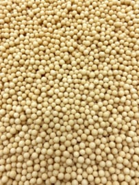 Parel mat beige 5 mm (4 x 90 gr)